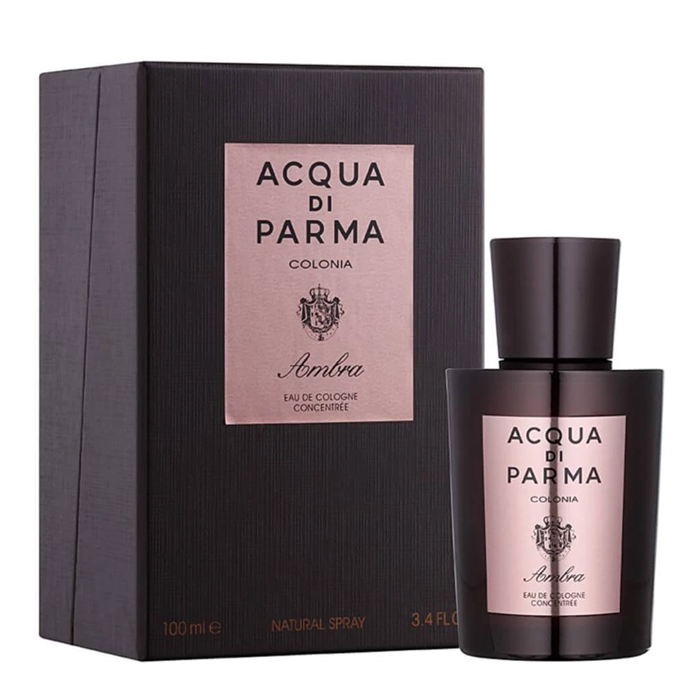 Acqua Di Parma Colonia Ambra Eau De Cologne Concentree 3.4oz 100ml Spray