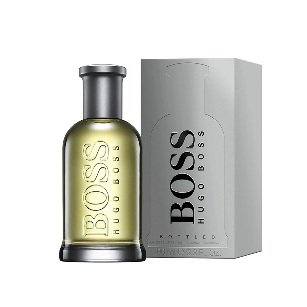 Boss Bottled Cologne for Men Eau De Toilette 3.3