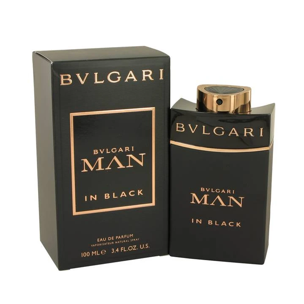 Bvlgari  Man In Black Men Eau De Parfum Spray 3.4 oz