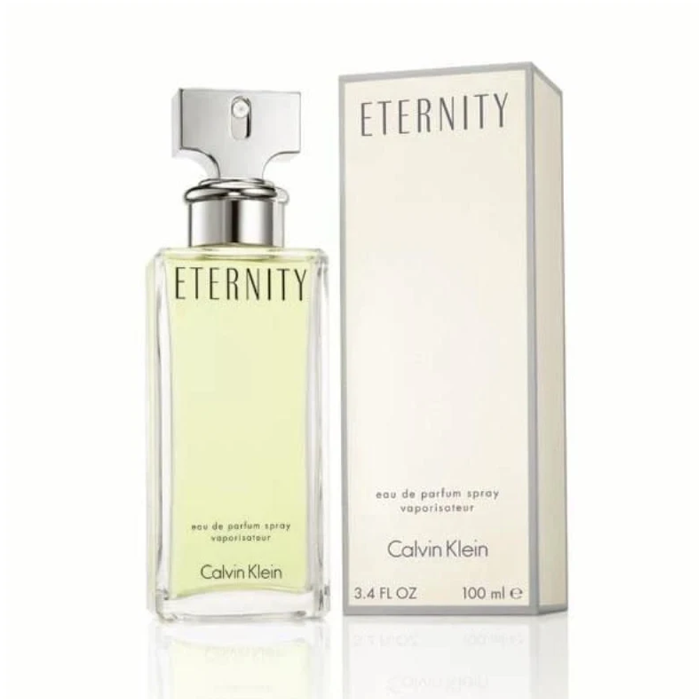 Calvin Klein Eternity for Women Eau De Parfum Spray 3.4 Oz