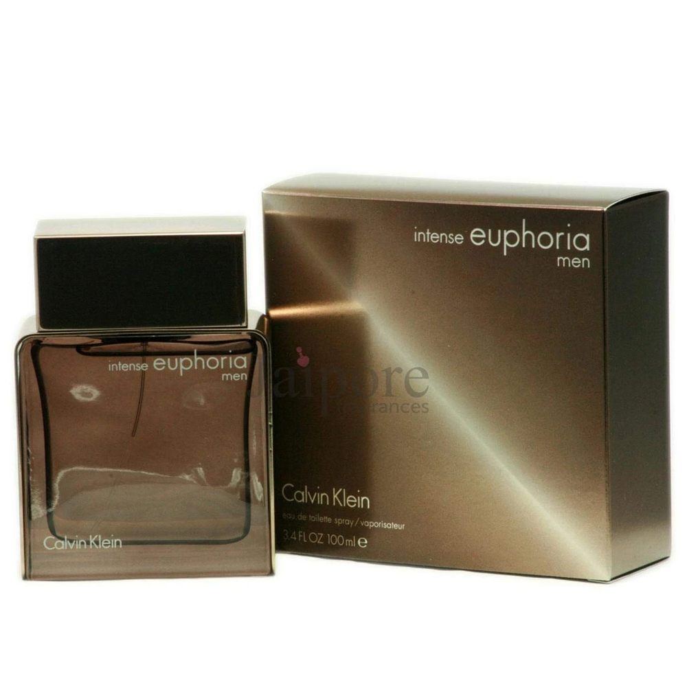 Calvin Klein Euphoria Intense for Men EDT 3.4 oz