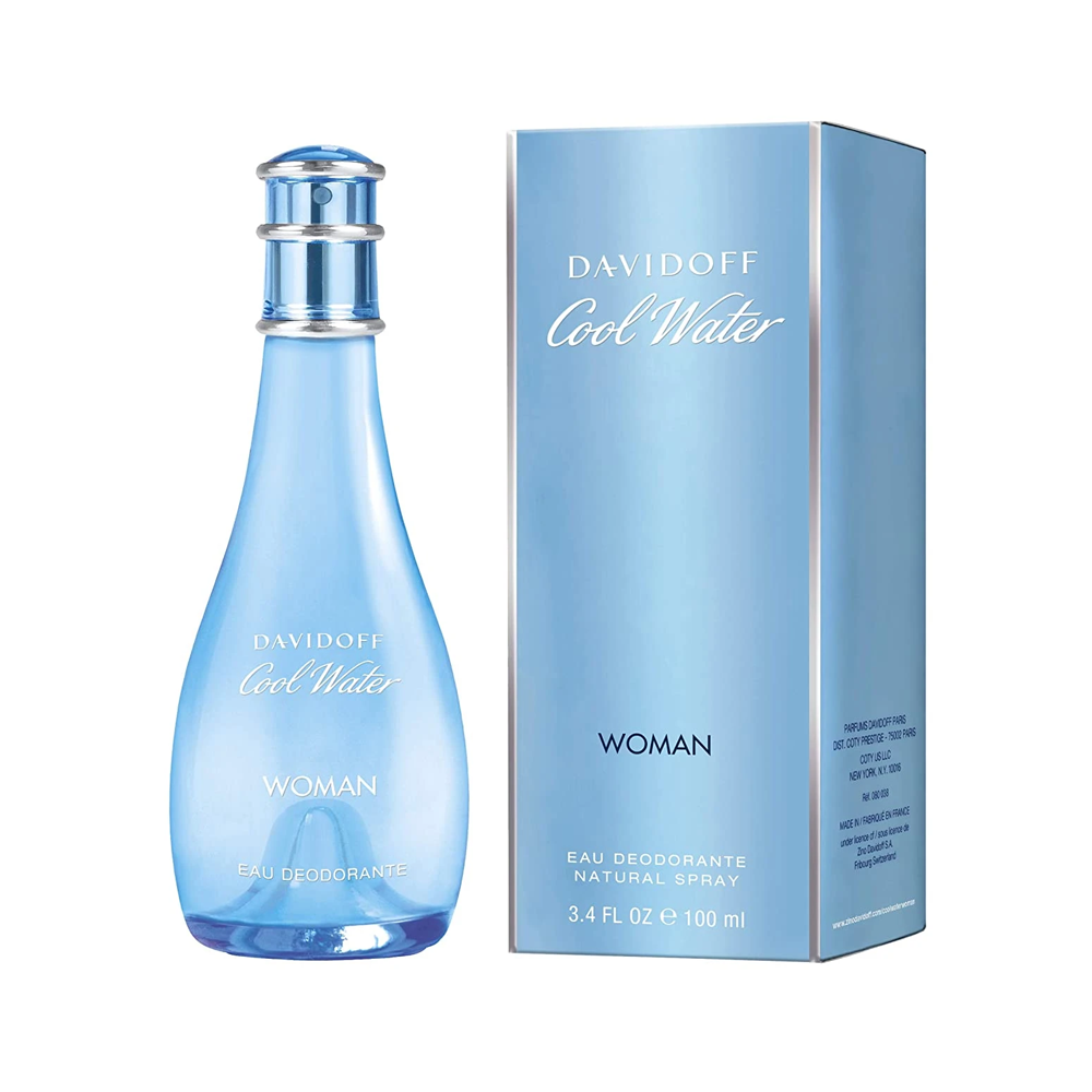 Davidoff Coolwater For Women 100 ml Eau De Toilette Spray