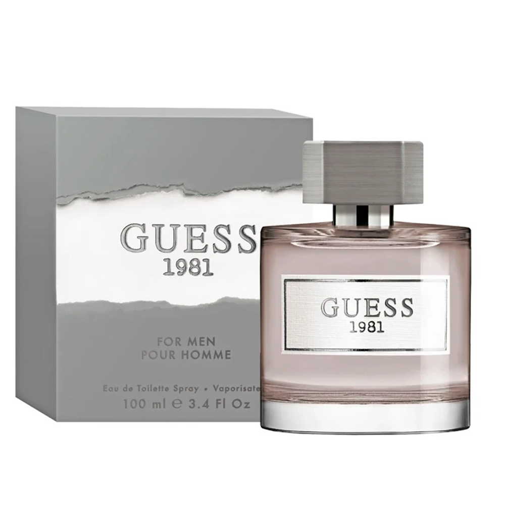 Guess 1981 For Men Eau De Toilette 3.4