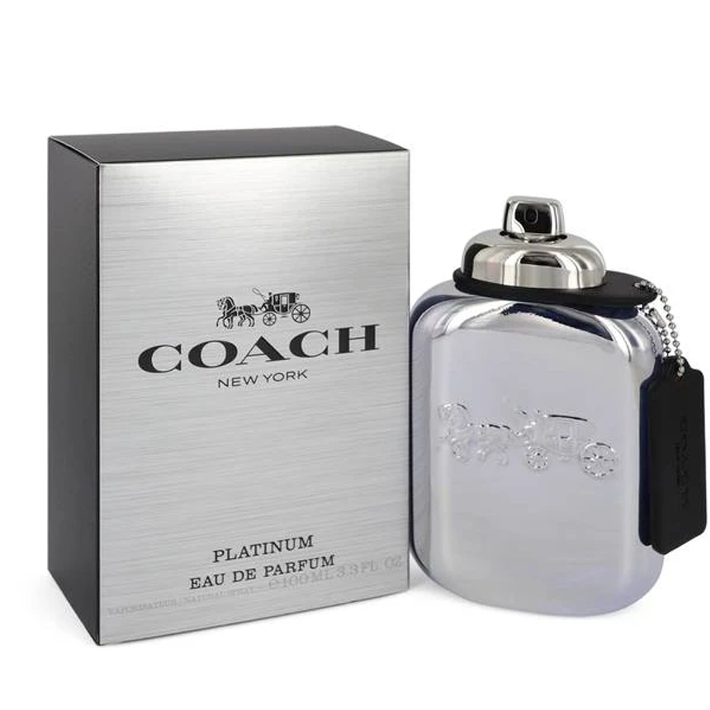 Inter Perfuems Coach Platinum For Men EDP 3.3 oz
