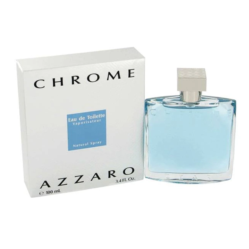 Loreal Azzaro Chrome For Men Eau De Toilette Spray 6.8 oz