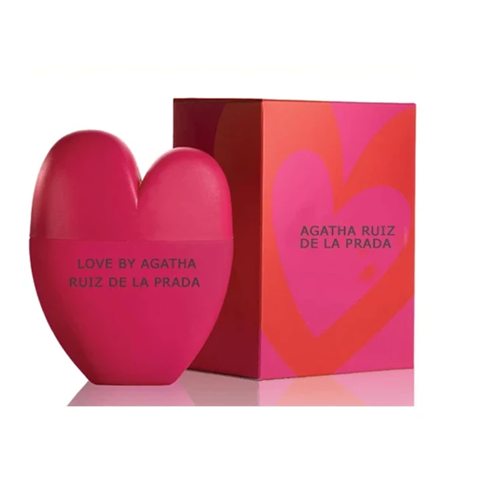 Love by Agatha Ruiz De La Prada 2.7 Oz Edt Spray