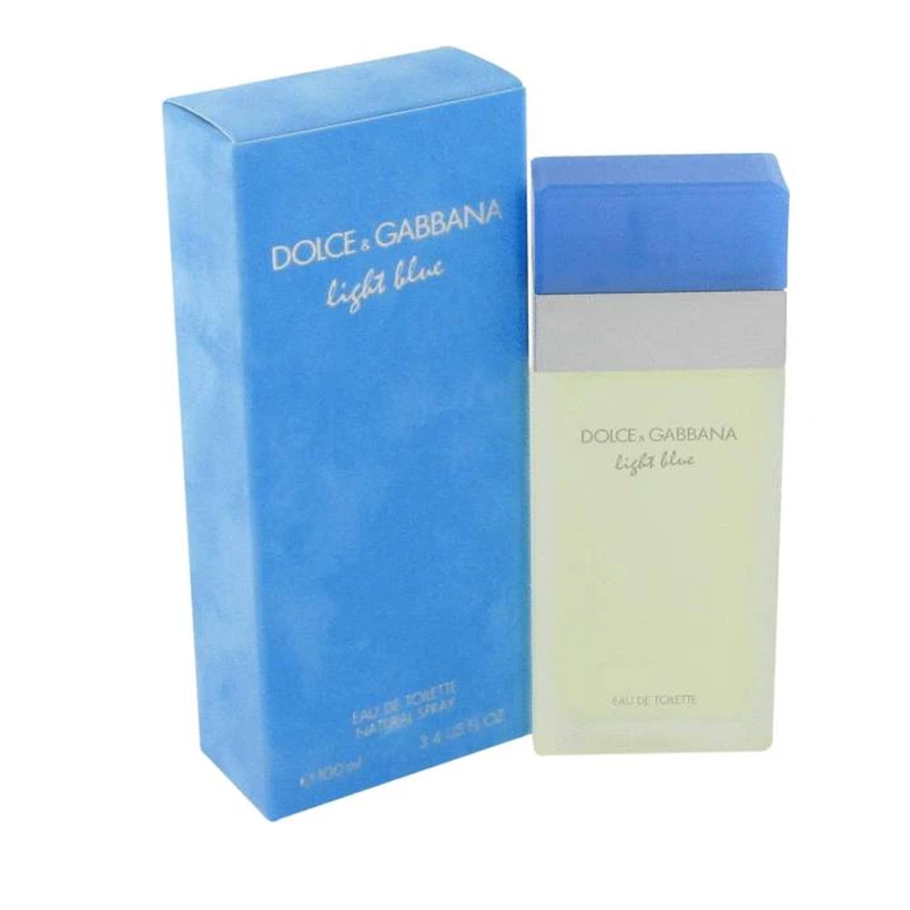 Shiseido Dolce & Gabbana D & G Light Blue Women Eau De Toilette Spray 3.3 oz