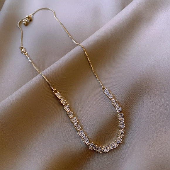 Clavicle Necklace - Sparkling