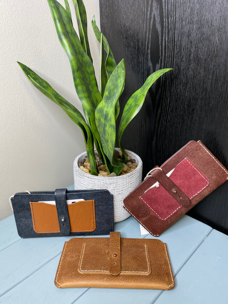 Phone & Card Holder