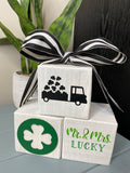 Valentine/St. Patty's Block Decor