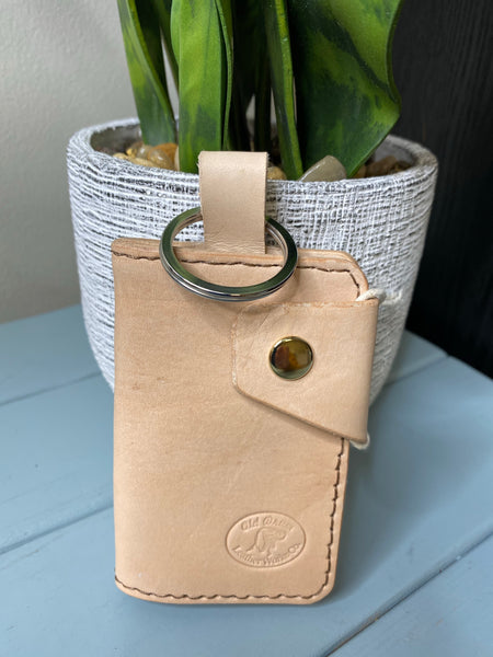 Small Wallet with Buckle