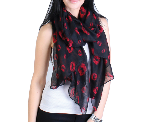 Red Lips Scarf