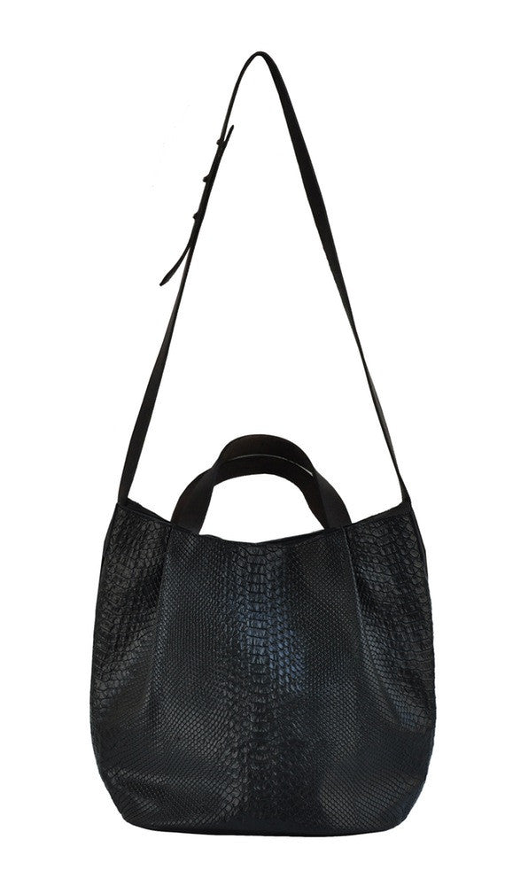 MARYLAI New York - (Belmont) Black Bucket Bag
