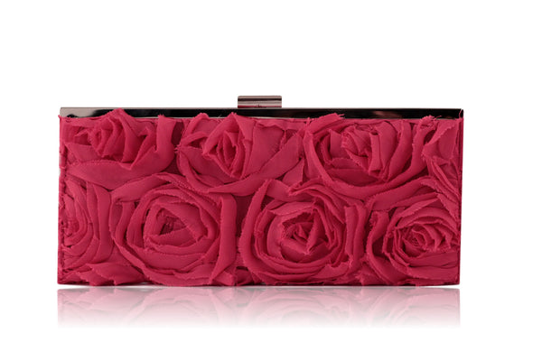 Jessica McClintock  Rose Evening clutch (Pink)