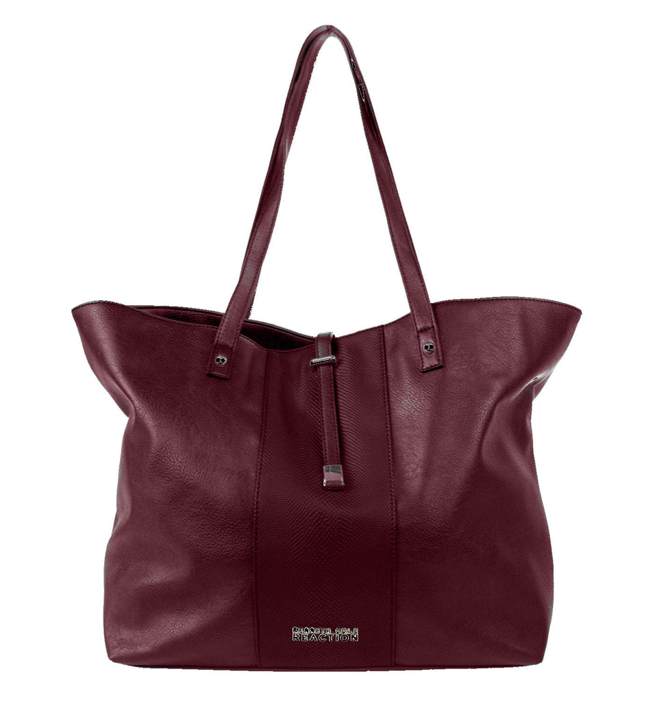 Kenneth Cole Squire Tote - Merlot