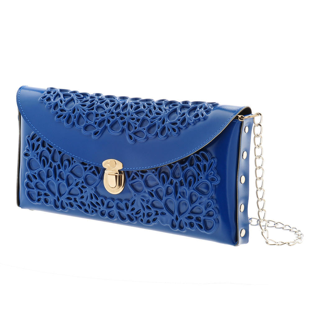 Medusa - Blue Clutch
