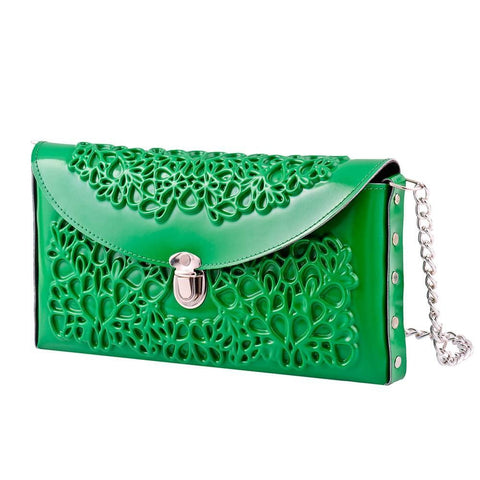 Medusa - Green Clutch