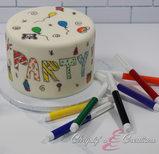 Doodle Cakes