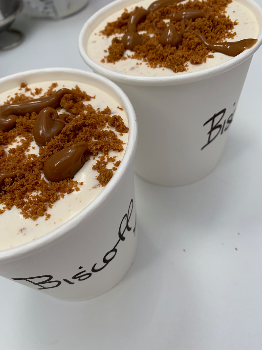 450ml Tub of Biscoff Ice Cream