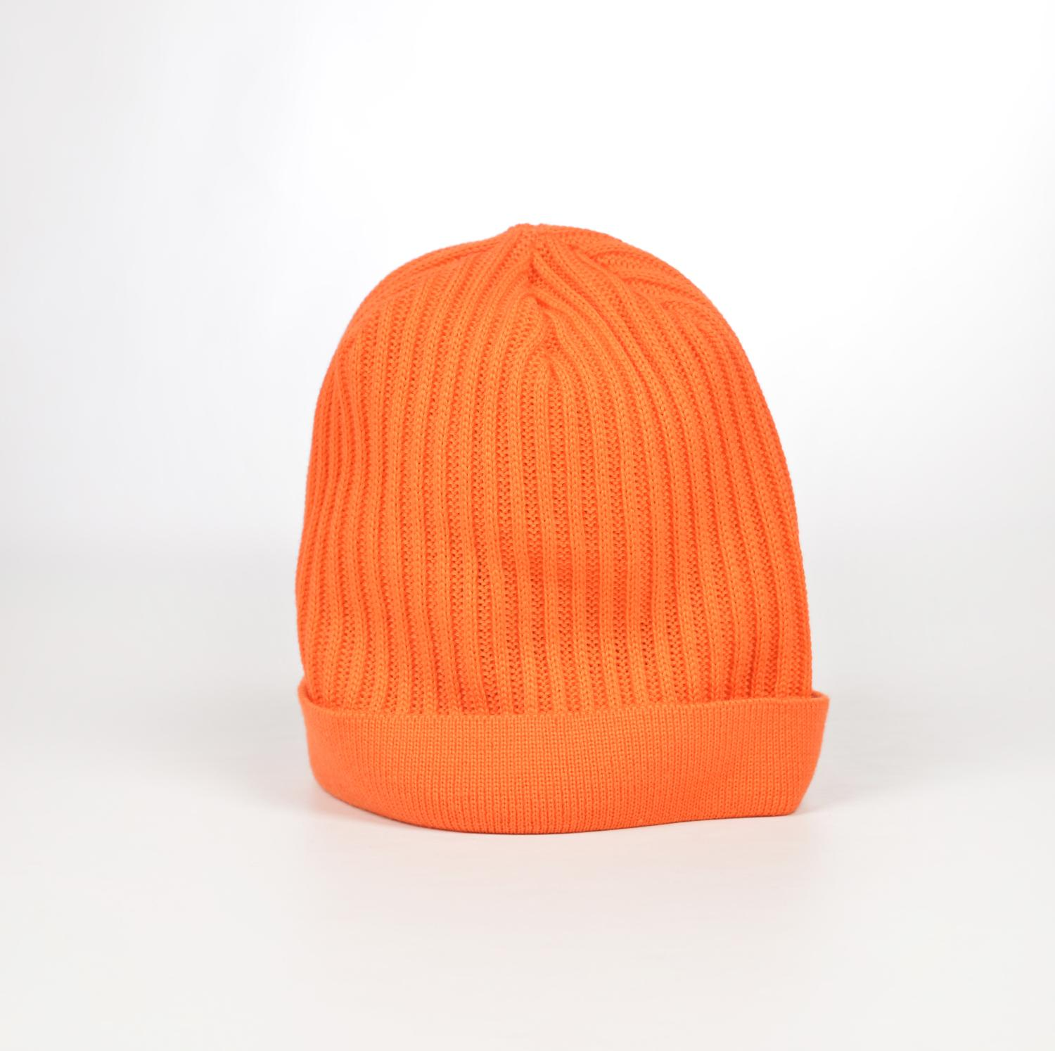 Mütze unisex, orange - Lenz & Leif