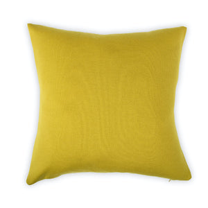 Cushion cover 50x50cm uni, mustard