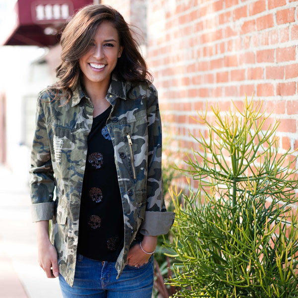 Just Too Cool: Camo + Skulls