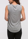 Sleeveless Paris Tee