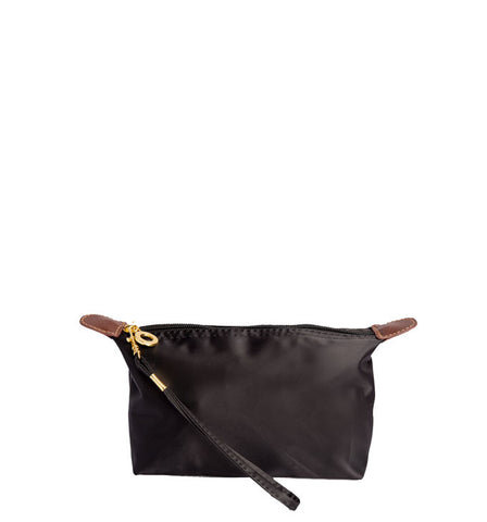 Nylon Wristlet in Black