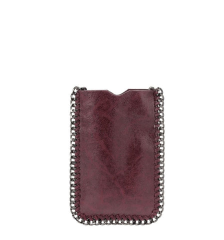 Wine Cell Phone Crossbody Bag