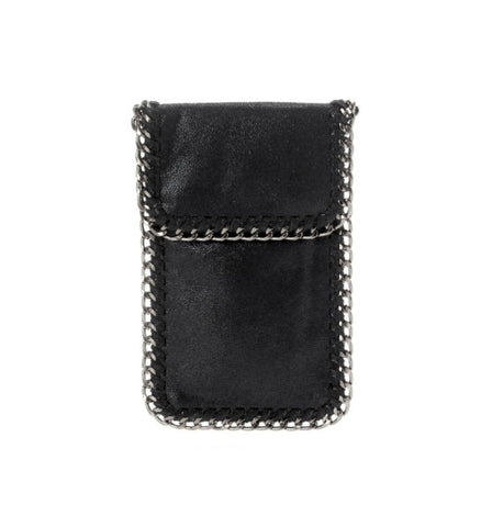 Kelly Cell Phone Crossbody in Black
