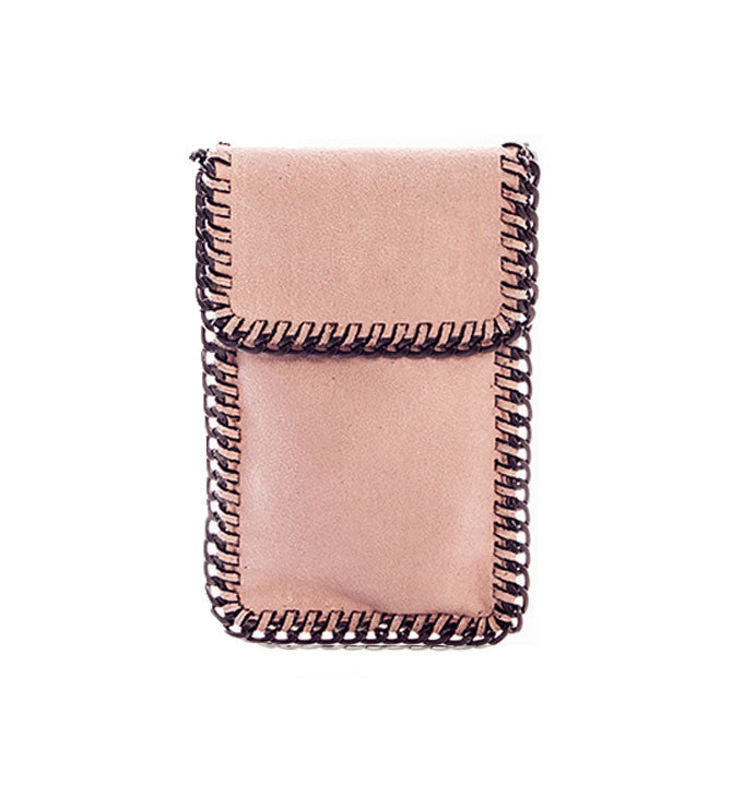 Kelly Cell Phone Crossbody in Pale Pink