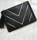 Bella Clutch in Black