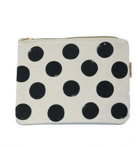 Polka Dot Carry All Pouch