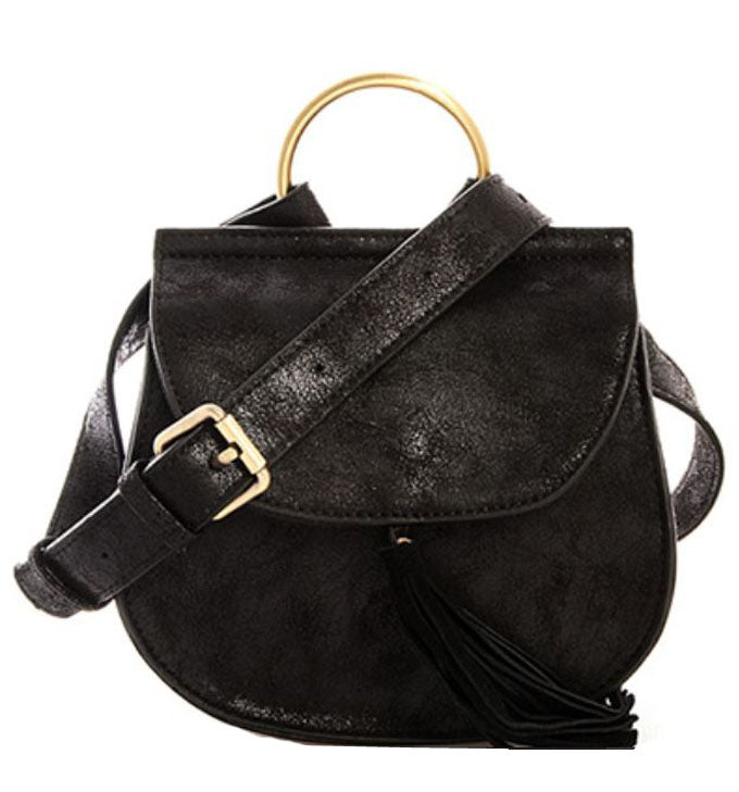 Jenni Saddlebag in Black