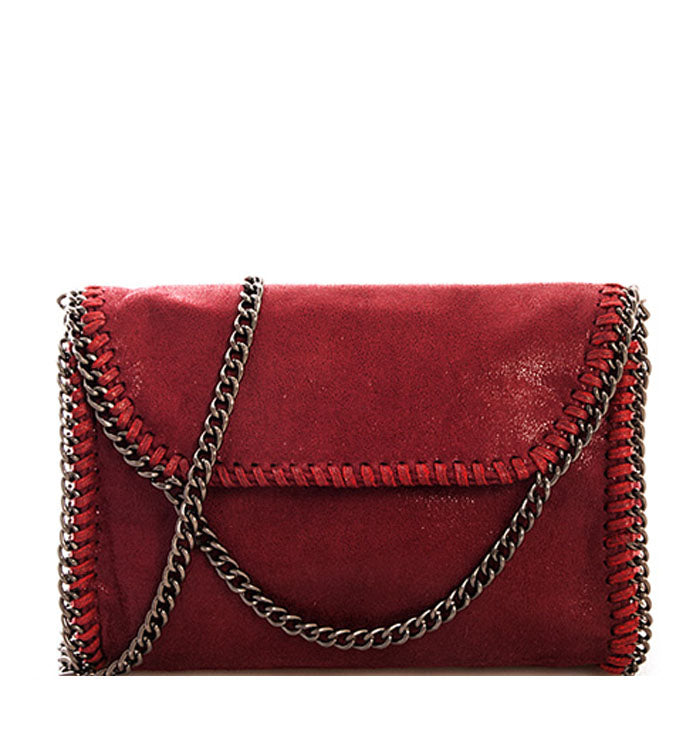 Amelia Crossbody in Berry