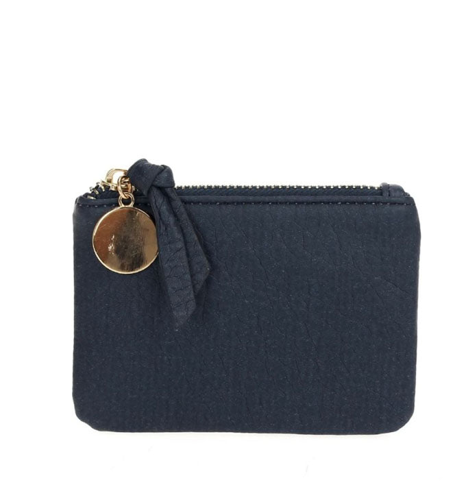 Kerri Coin Clutch in Navy
