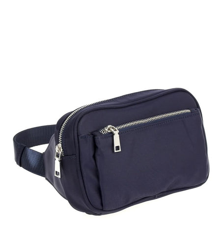 Jesse Belt Bag in Navy