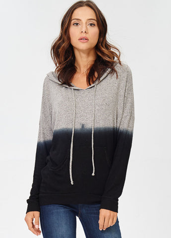 Ombre Pullover Hoodie