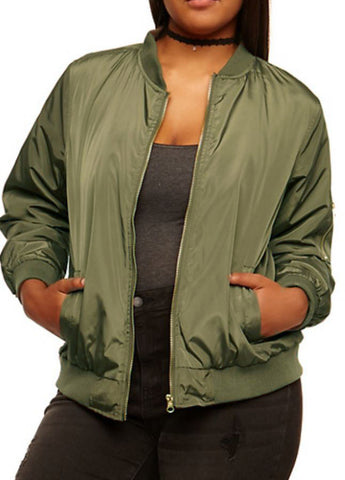 Lightweight Bomber in Olive