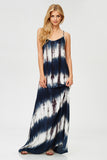 Lattice Tie Dye Maxi Dress