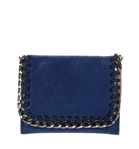 Daryl Mini Wallet in Royal Blue