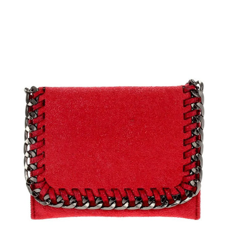 Daryl Mini Wallet in Red