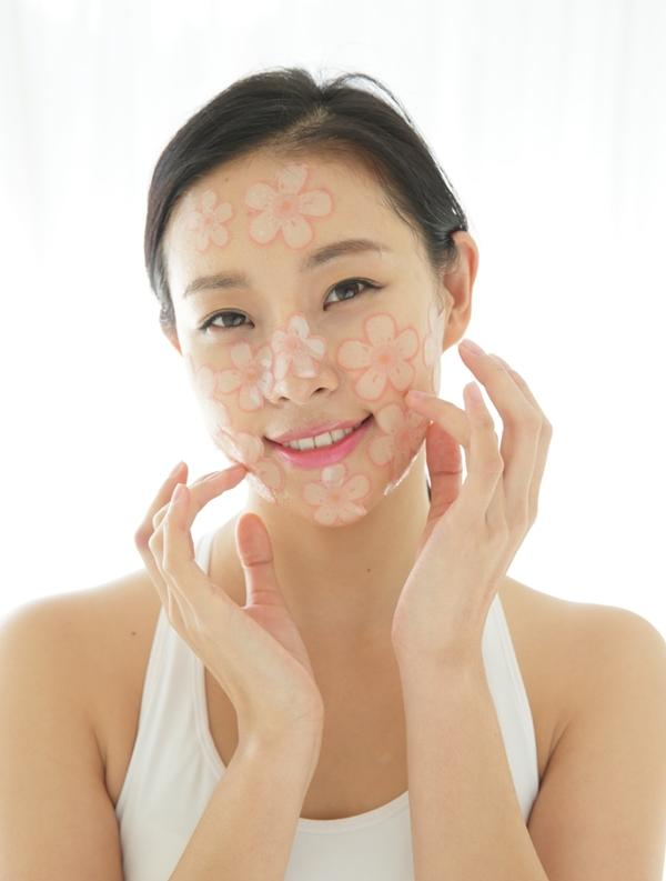 Slice Mask Cherry Blossom + Strawberry+ Rose & Get Cucumber Slice Mask Free