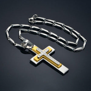 Big Crucifix & Cross Necklace For Men/Women -  SEA OF GALILEE CHRISTIAN SHOP
