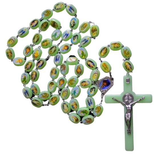 Noctiluca Rosary Prayer Beads -  SEA OF GALILEE CHRISTIAN SHOP