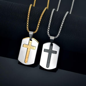 Cross Pendant Necklaces For Women/Men Gold Color -  SEA OF GALILEE CHRISTIAN SHOP