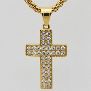 Female Cross Pendants - Necklace -  SEA OF GALILEE CHRISTIAN SHOP