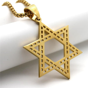 Star of David Necklace Men/Women  -  SEA OF GALILEE CHRISTIAN SHOP