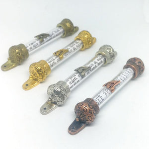 Mezuzah Holy Scroll Door Pendant hanging ornament with Holy Bible -  SEA OF GALILEE CHRISTIAN SHOP