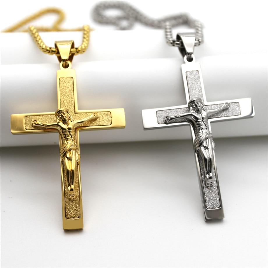 Cross Pendant Necklaces for Men -  SEA OF GALILEE CHRISTIAN SHOP